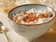 Диетично мляко с ориз с подсладител Стевия